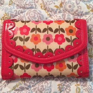 Vera Bradley wallet from their Frill line